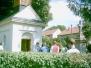 Mše svatá v Manerově u kapličky