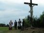 Svěcení nového kříže